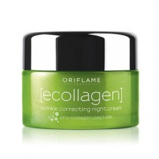 Oriflame Ecollagen Wrinkle Correcting Night Cream