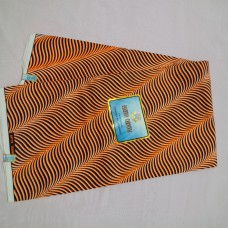 Orange and Black Afripride by Fashion Carnival - 6 Yards