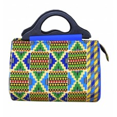 Ellipse Ankara Bag