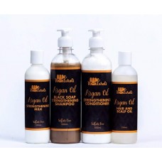 Wenaturals Argan Oil Strengthening Range